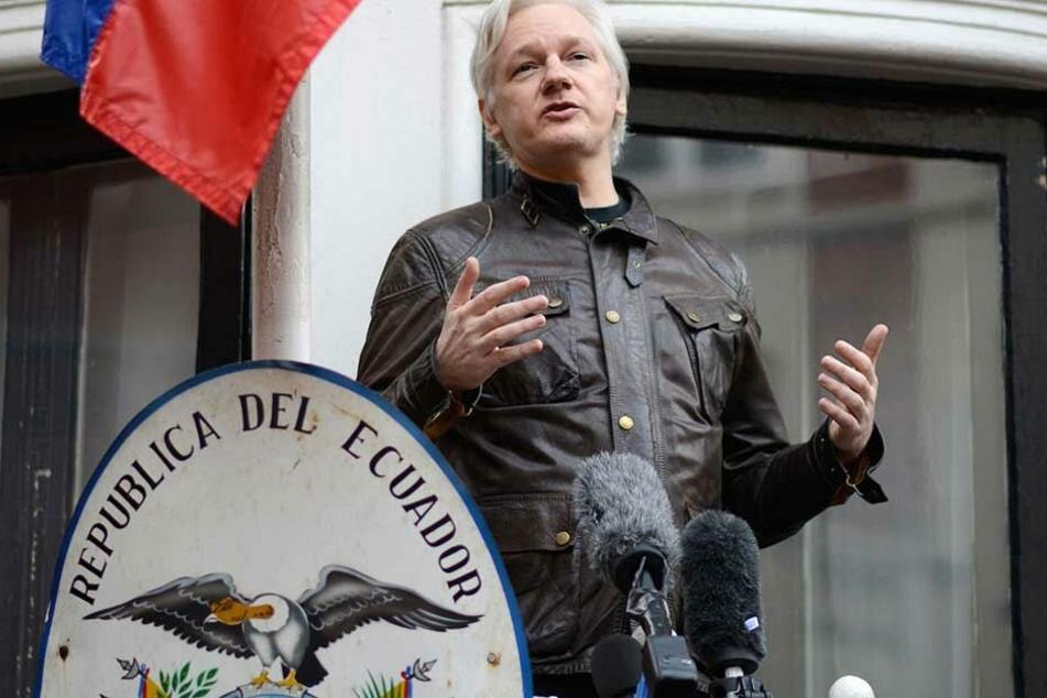 Julian Assange hatte die vergangenen Jahre in der Botschaft von Ecuador Zuflucht gefunden.