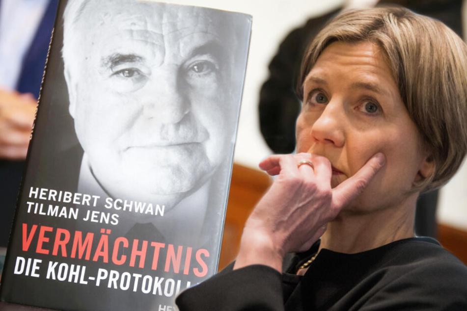 Die Witwe von Helmut Kohl, Maike Kohl-Richter.