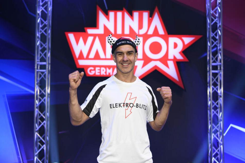 Kirchberger Jörg Eißmann wollte bester Ninja Warrior werden.