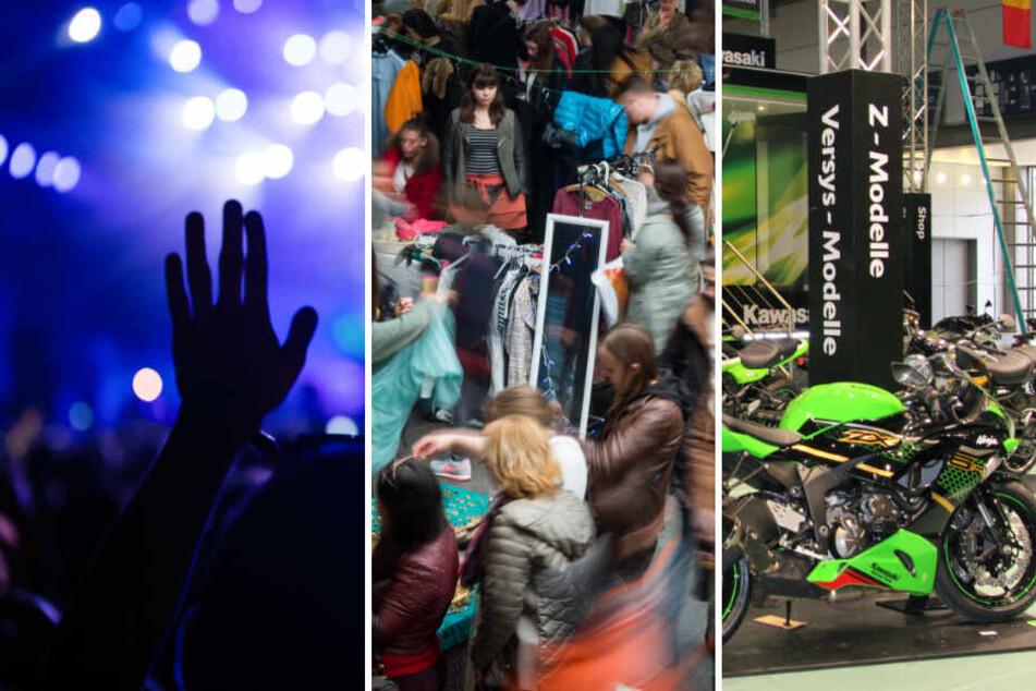 Motorradmesse, Winterfestevil, Animes: Das ist am Samstag in Leipzig los