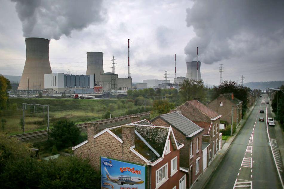 Die Atomkraftwerke in Belgien haben teilweise maroden Beton.