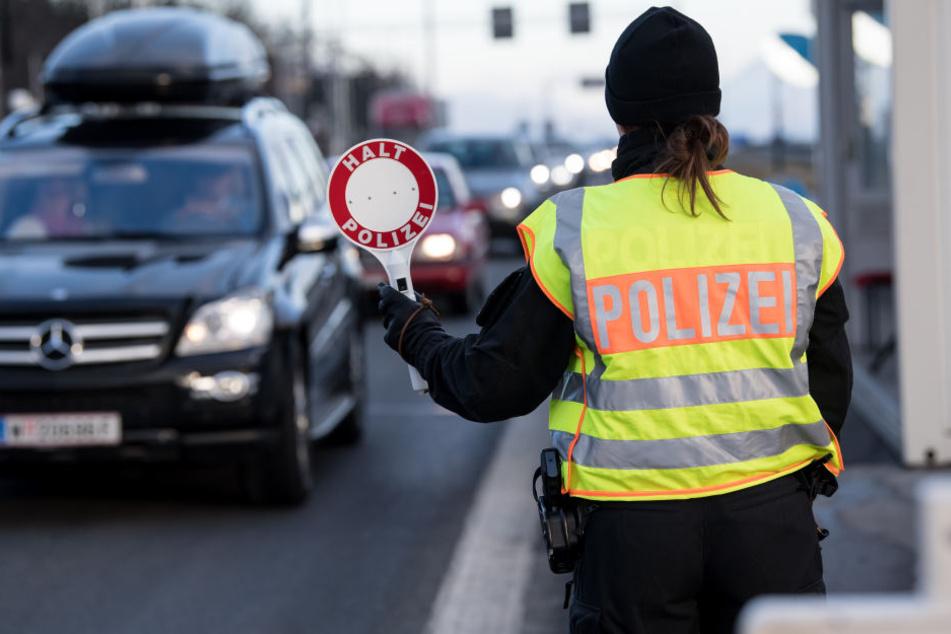 An der deutsch-polnischen Grenze wurden 40 Migranten von der Polizei erwischt.