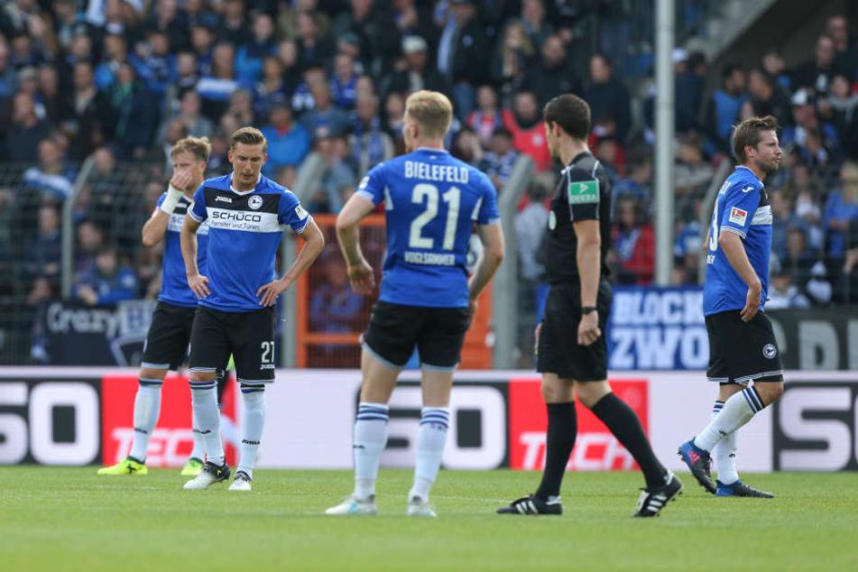 Gegen den MSV Duisburg musste der DSC die erste Saisonniederlage einstecken.