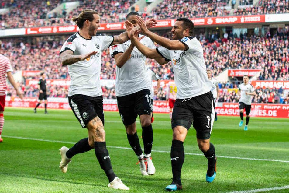 Früher Rückschlag für den 1. FC Köln: Bereits nach vier Minuten führte Sandhausen.