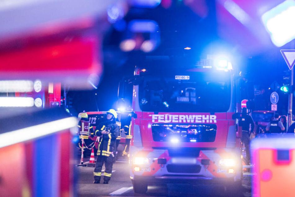 Die Feuerwehr konnte den Mann nur noch tot bergen. (Symbolbild)