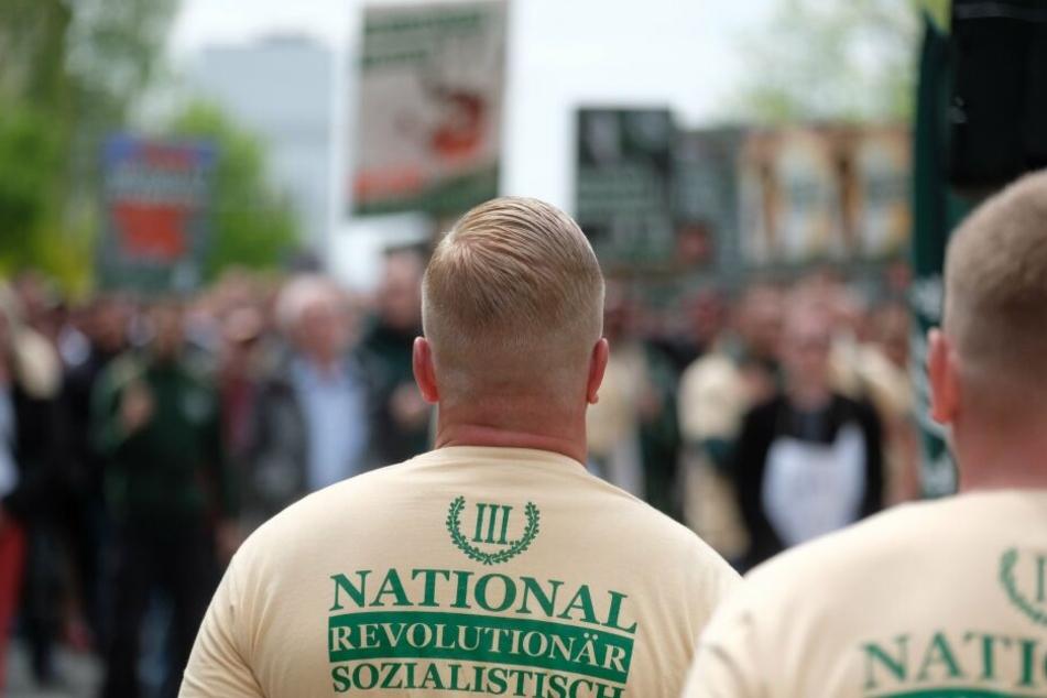 Im Parteibüro des Dritten Wegs in Plauen gab es am Mittwoch eine Veranstaltung. (Archivbild)
