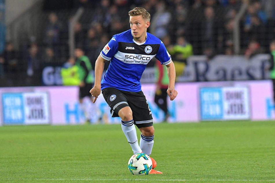 Wird Konstantin Kerschbaumer (25) wohl beim DSC Arminia Bielefeld bleiben?
