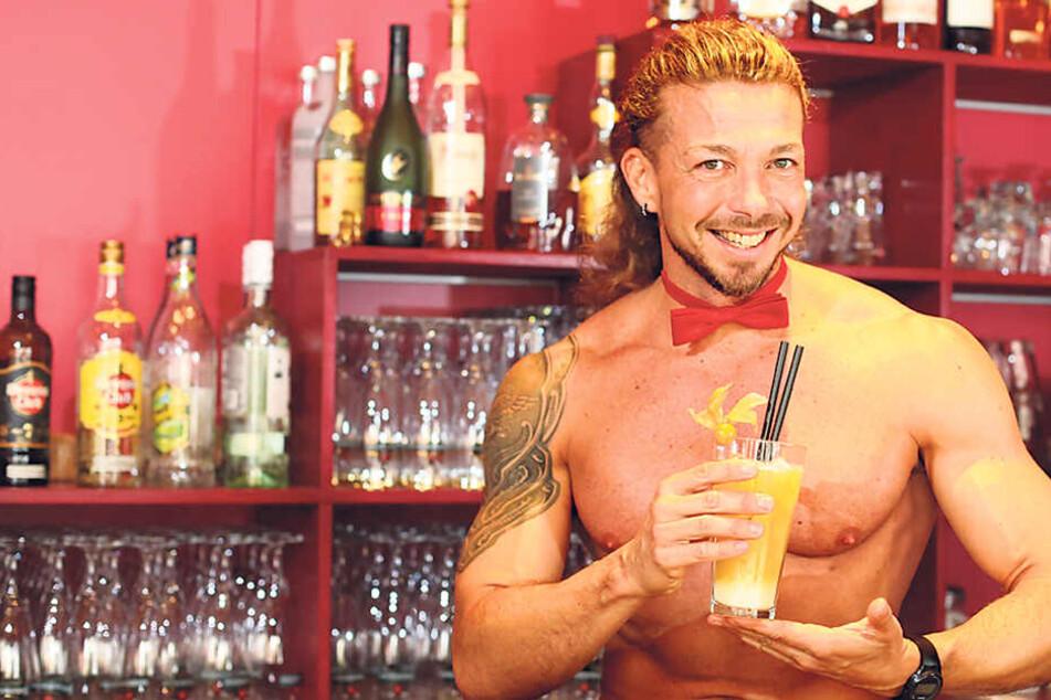 """Der italienische Stripper Damian wird ab 30. April in der """"Tabu""""-Bar Frauen betören."""
