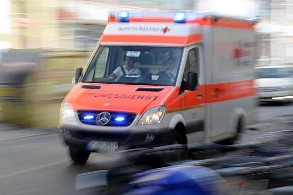 In Halsbrücke ist ein Motorradfahrer bei einem Unfall verletzt worden.