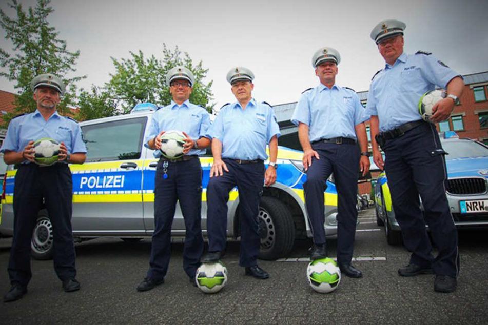 Für WM-Euphorie: Die Feier-Regeln der Polizei