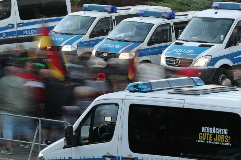 Die Polizei in der Stadt ist vorbereitet und bekommt Unterstützung unter anderem von der Bundespolizei.