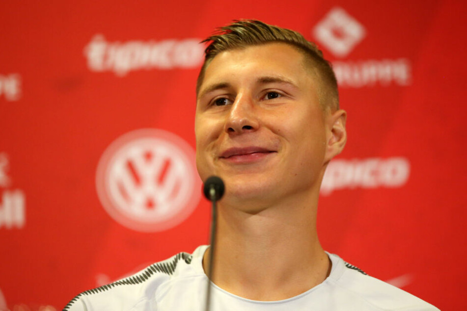 Das neue Mannschaftsoberhaupt: Willi Orban (24) ist neuer Kapitän bei RB Leipzig.