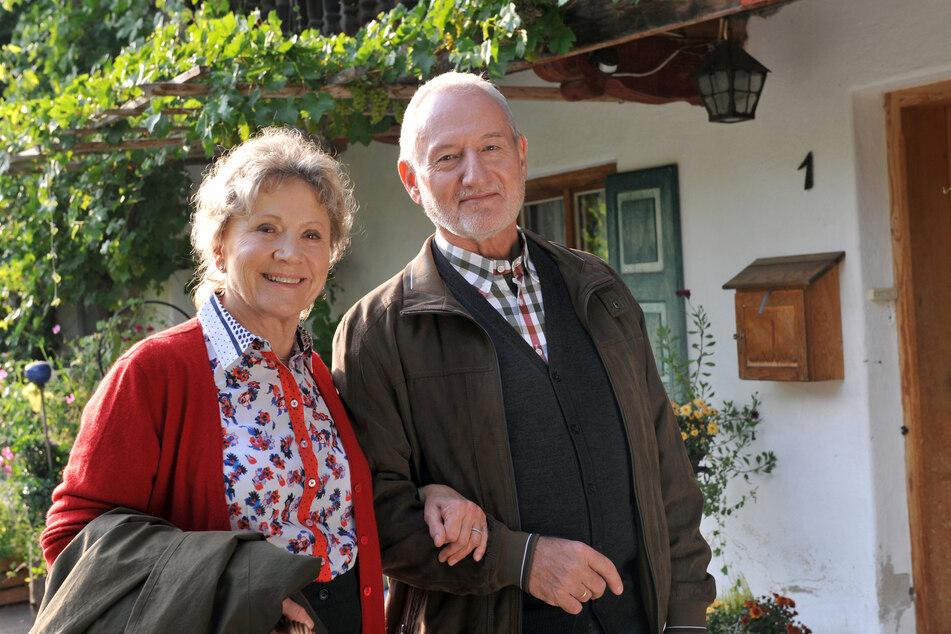 Antje Hagen und Sepp Schauer sind seit der ersten Stunde beim Sturm der Liebe dabei.