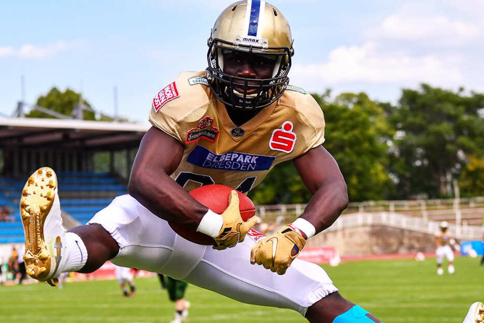 So will Cheikhou Sow auch gegen die Lions Braunschweig wieder jubeln.