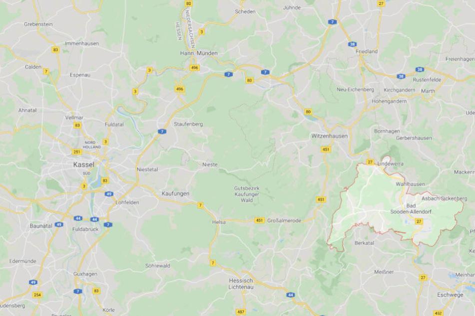Bad Sooden-Allendorf liegt unweit von Kassel.