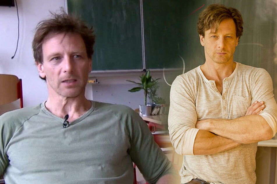 RTL-Lehrer Hendrik Duryn besucht seine alte Schule in Leipzig