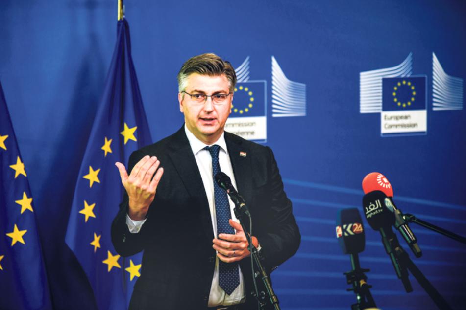 Hat noch die Präsidentschaft inne: Kroatiens Premierminister Andrej Plenkovic.