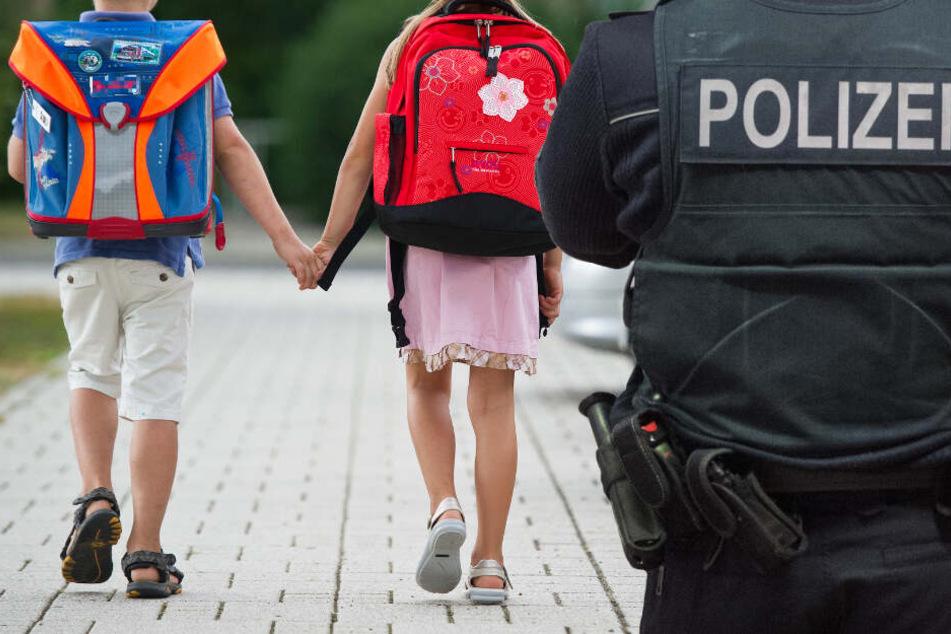 Die Polizei in Südhessen sorgt sich um die Kinder in der Region (Symbolbild).
