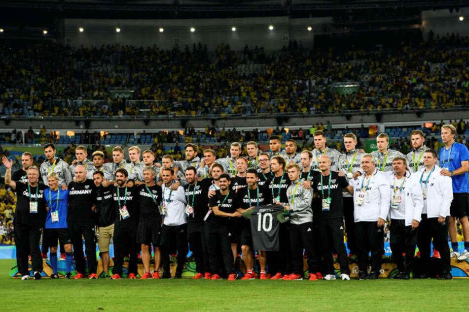 Deutschland verlor das Endspiel in Rio gegen Brasilien und holte Silber.