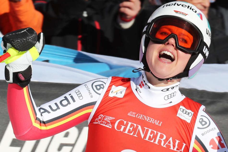 Was für eine Leistung! Viktoria Rebensburg rast in Garmisch zum Mega-Heimsieg