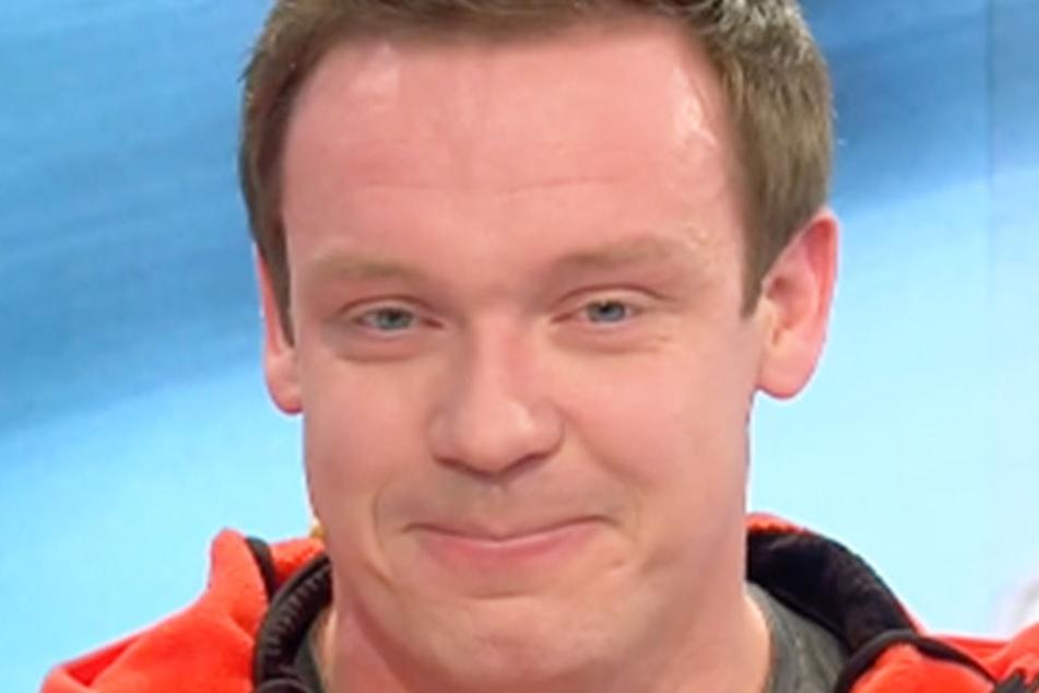 Felix Loch kamen im ZDF-Studio die Tränen.