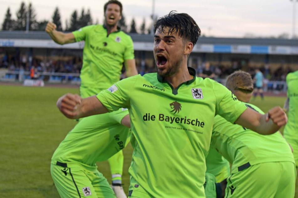 Aaron Berzel wird auch in der Saison 2019/20 für den TSV 1860 München auflaufen.