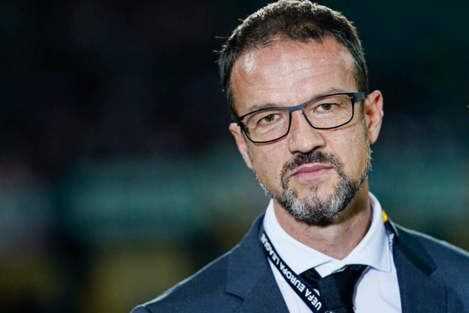 Auch Sportvorstand Fredi Bobic will gegen RB Salzburg eine bessere Leistung der SGE sehen.