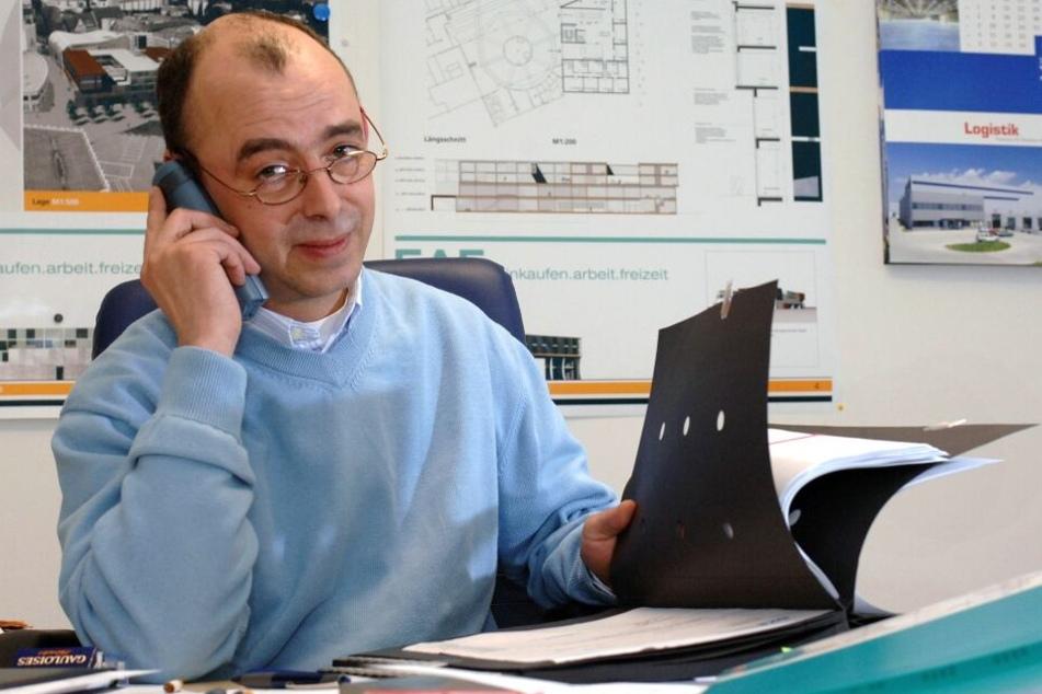 Investor Jörg Mierbach (55) baut die Wohnanlage.