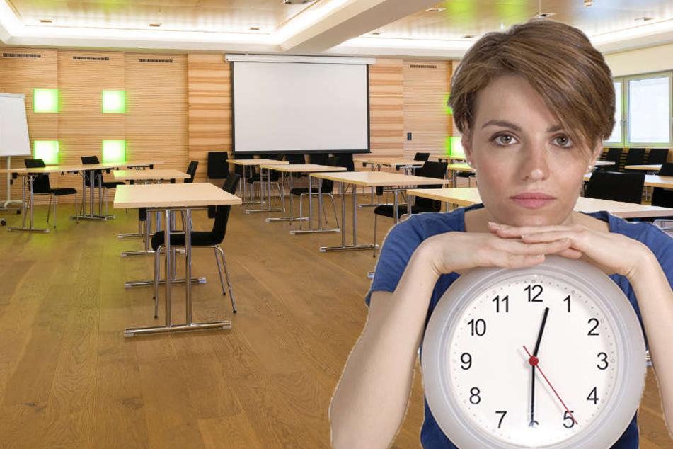 Die Studentin aus Rheda-Wiedenbrück hat 12.30 Uhr verstanden, obwohl es eigentlich 11.30 Uhr hieß.