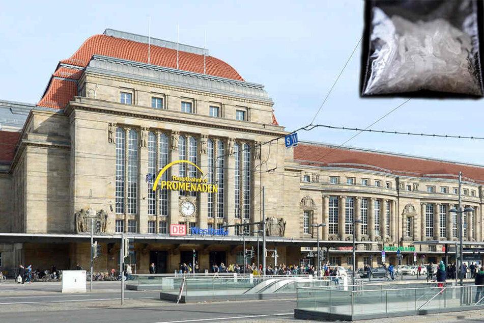 Am Dienstag erwischte die Polizei in Leipzig besonders viele Menschen mit Drogen.