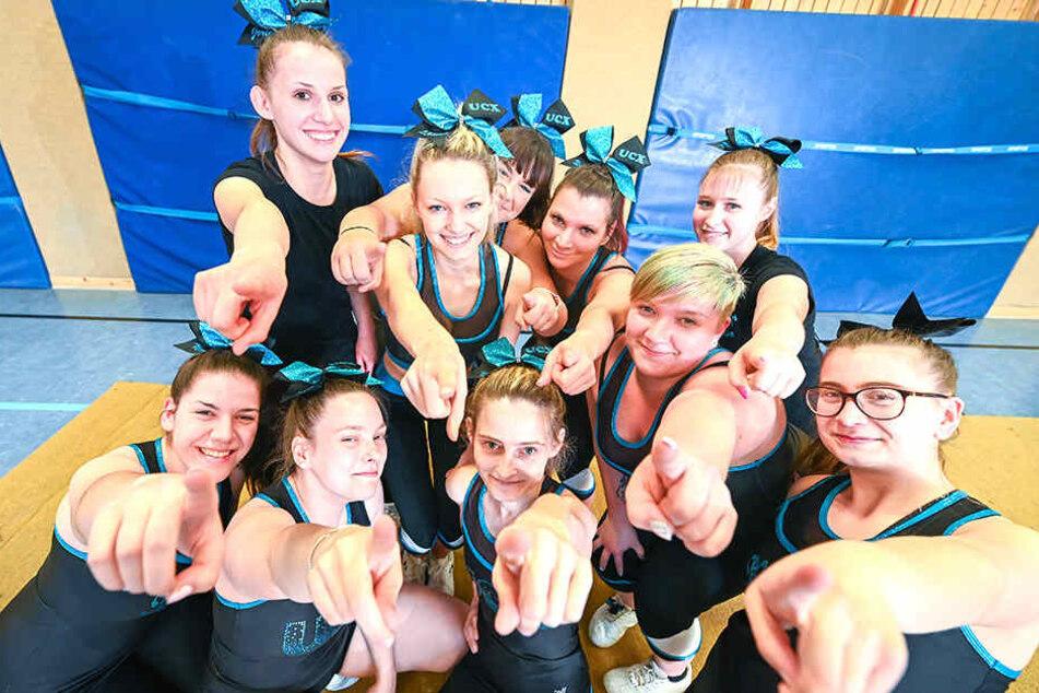 Aufnahmestopp! Cheerleader-Verein kämpft mit einem Problem
