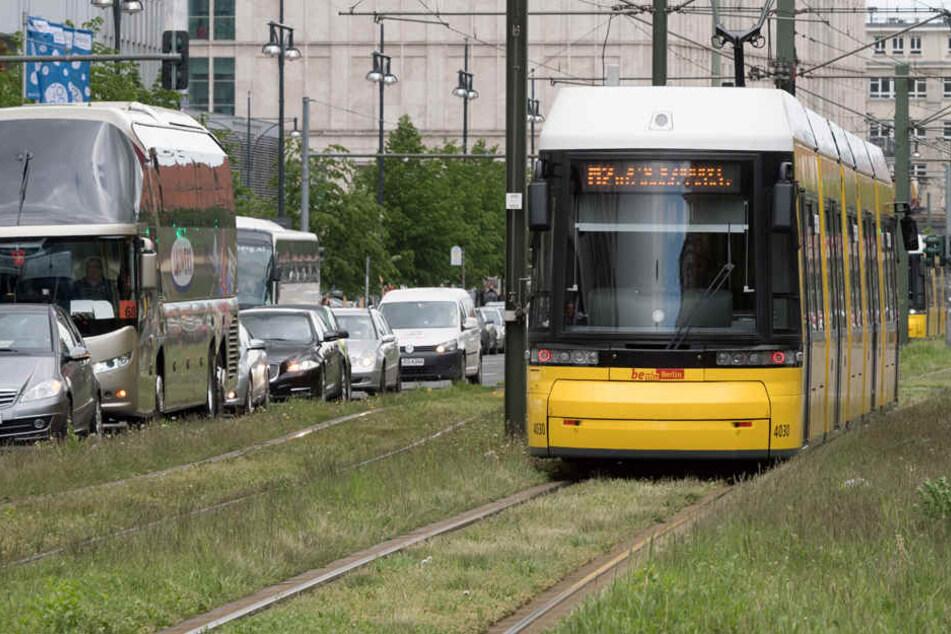 Das Straßenbahnnetz soll in Berlin weiter wachsen. (Symbolbild)