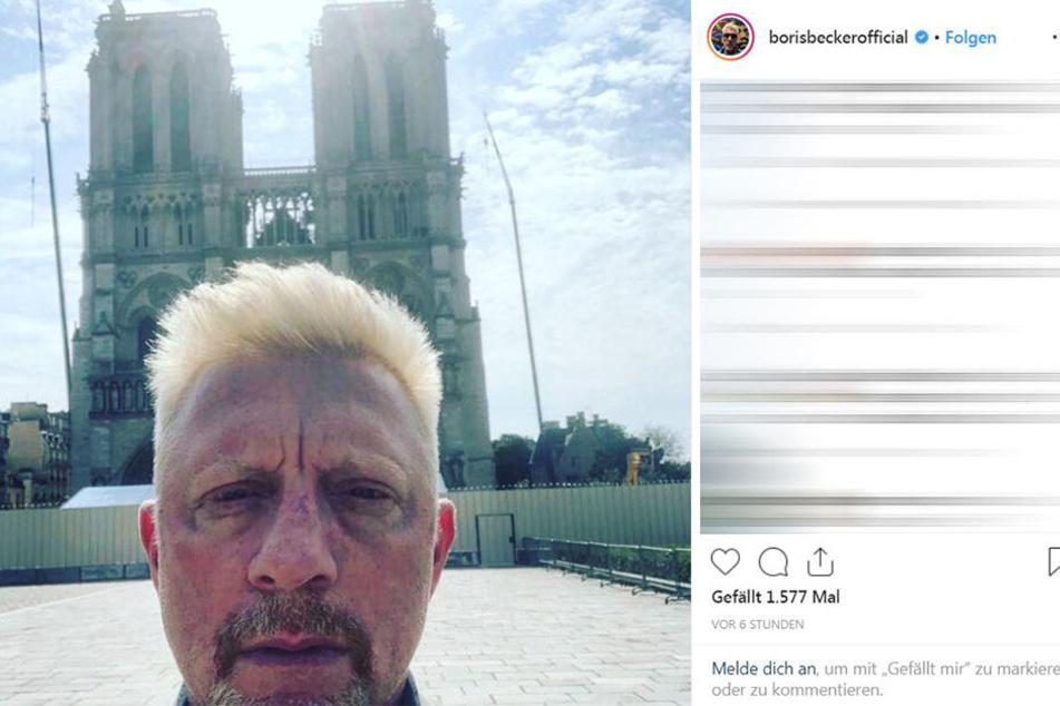 Was ist mit seinem Gesicht passiert? Boris Becker (51) verwirrt mit aktuellem Selfie.