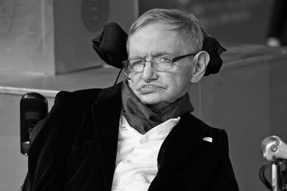 Stephen Hawking starb im Alter von 76 Jahren.