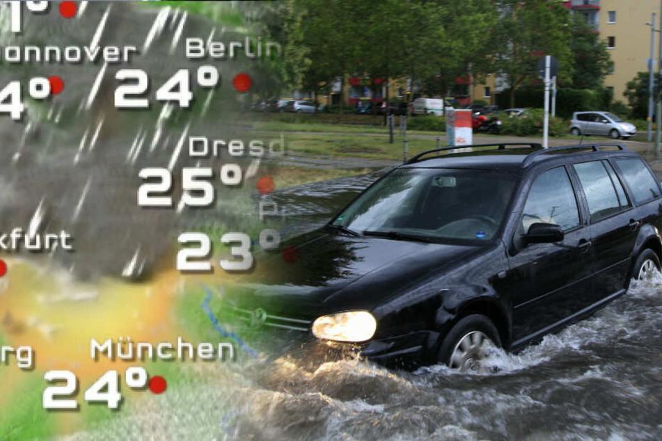 Heiße Tage erstmal vorbei: Berlin droht neues Unwetter