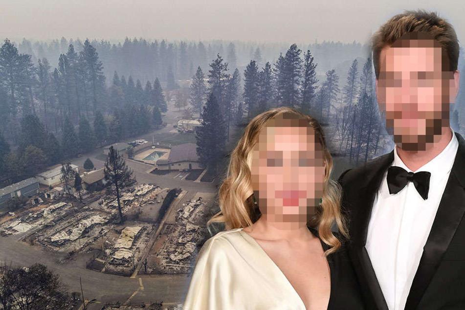 Auch ihr Haus brannte ab: Dieses Hollywood-Paar will den Waldbrand-Opfern helfen