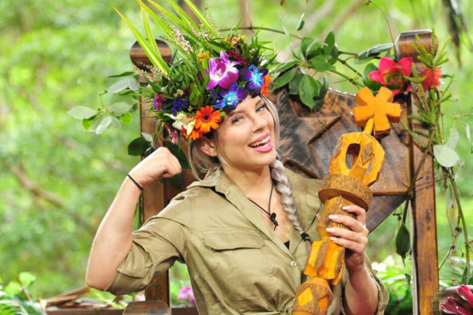 """Jenny Frankhauser (26) wurde 2018 bei der RTL-Show """"Ich bin ein Star - Holt mich hier raus!"""" Dschungelkönigin."""