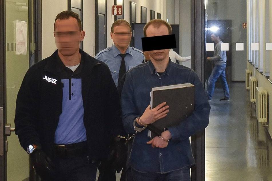 Nino K. (31) muss sich wegen versuchten Mordes am Landgericht verantworten.
