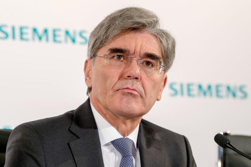 Konzernchef Joe Kaeser (61) warb persönlich bei Iraks Premierminister für den Deal.