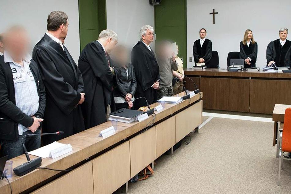 Seit April stehen die Angeklagten der OSS in München vor Gericht (Archivbild).