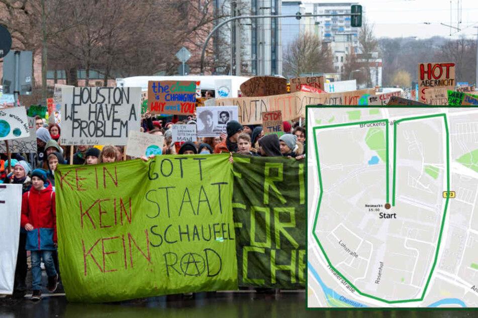 """""""Fridays for Future""""-Demo: In Chemnitz wird wieder fürs Klima gestreikt"""