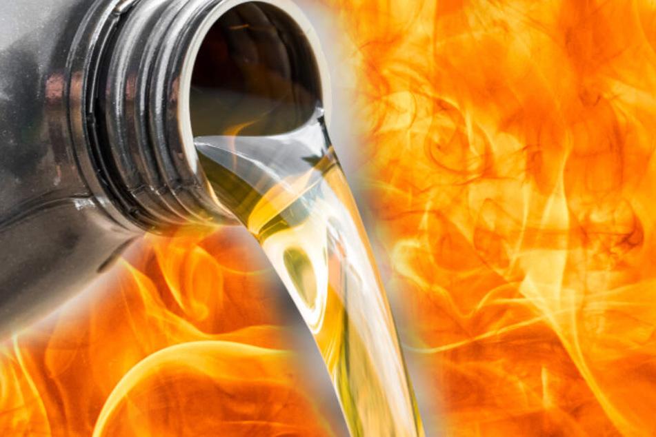 Privatschullehrer überschüttet Kollegin mit Petroleum und zündet sie an