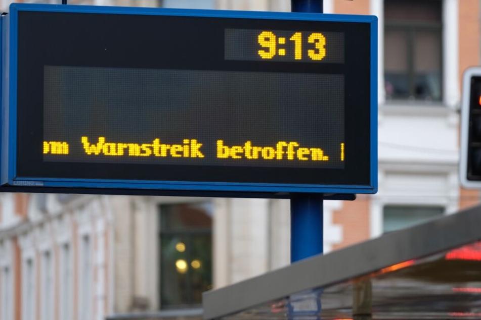 Insgesamt sind elf Verkehrsgesellschaften vom Streik betroffen. (Symbolbild)