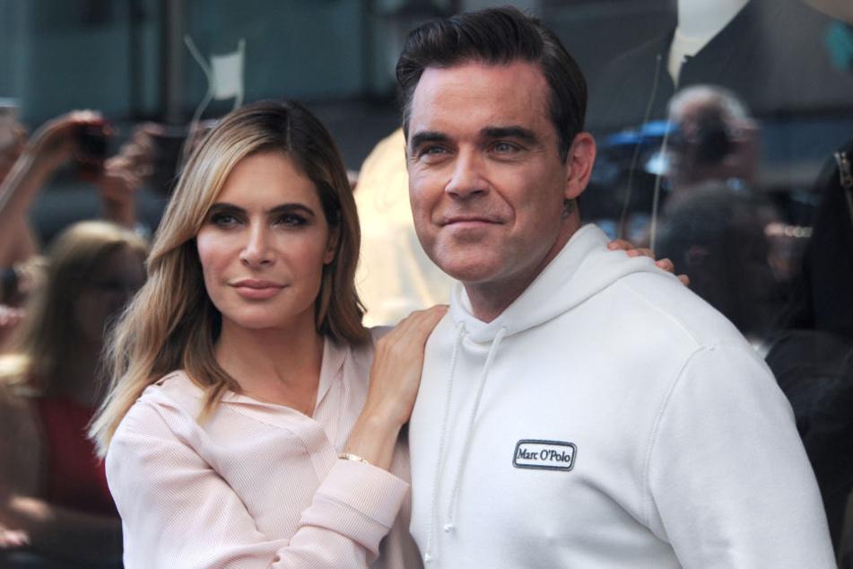 Mittlerweile sind Ayda und Robbie schon seit sieben Jahren verheiratet.
