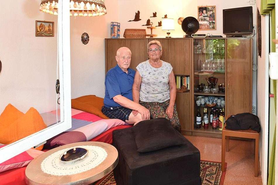 Gemütlich eingerichtet: ein Blick ins Schlafzimmer mit ausziehbaren Betten.