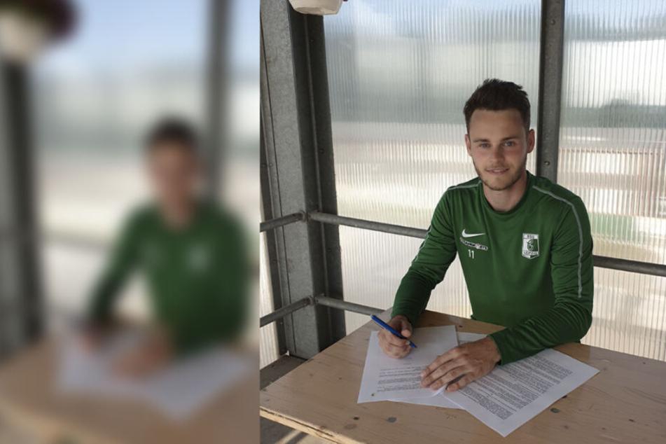 Marc Böttger freut sich auf ein weiteres Jahr mit den Leipziger Fans.