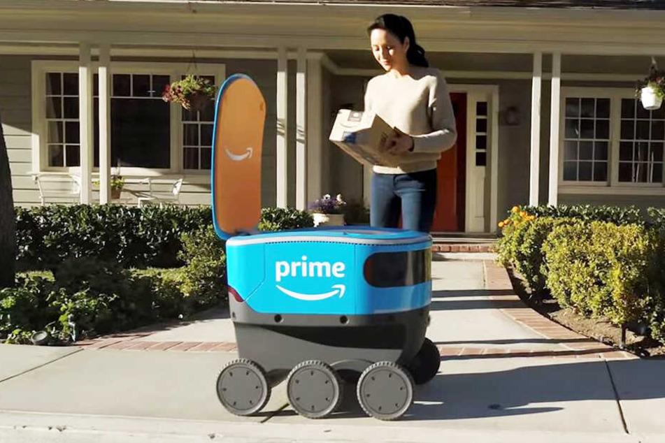 Liefert ein Roboter bald unsere Amazon-Pakete aus?