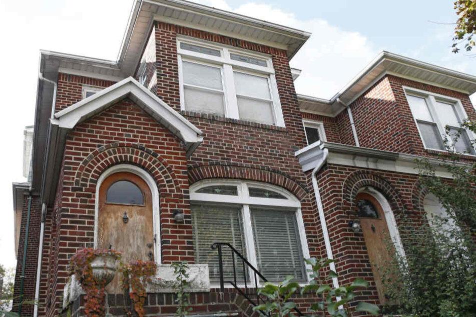 In diesem Haus in Amerika lebte der Mann bis zuletzt.