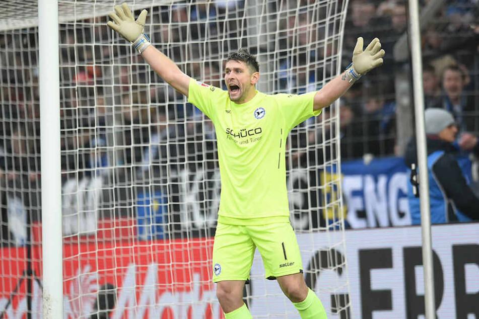 Wolfgang Hesl (31) freut sich auf das Spiel gegen den Karlsruher SC.