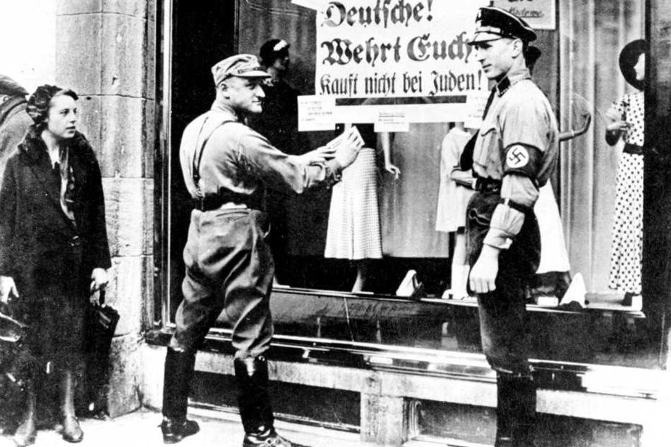 In der Pogromnacht 1938 begann der Holocaust.